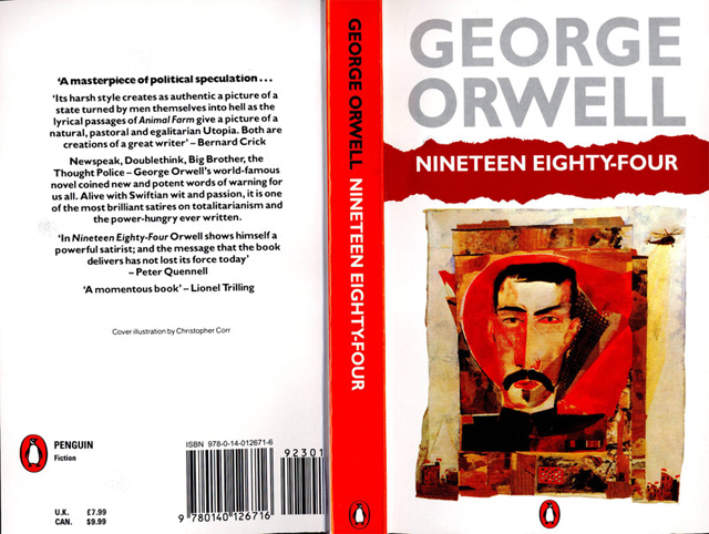 the penguin essays of george orwell 1984 George orwell's 1984 offers a thought-provoking learning experience for high schools students  possible follow-up activities could include writing an essay on the.