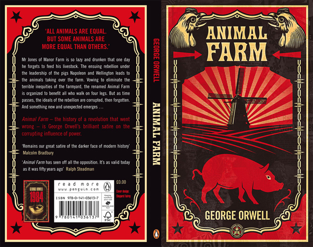a comparison between the books animal farm and 1984 Donald trump is like napoleon from 'animal farm' and big brother from '1984' let's put this orwellian nightmare to bed: although trump did call it just that in a book 16 years ago the past didn't happen.