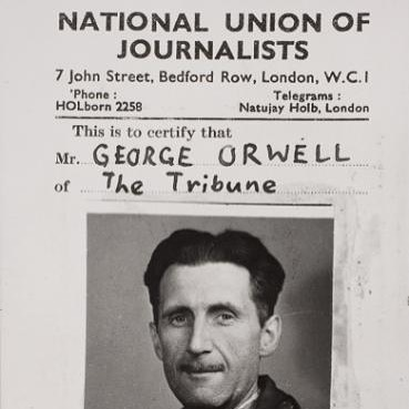 about george orwell the orwell prize